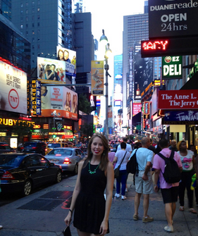 Times Square – one of my favorite places in the world even though it's crazy!
